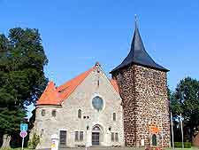 Photo of historical church in the Old Town district