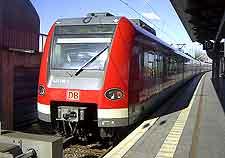 Image of Deutsche Bahn train