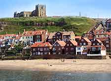 Photo of the beach at Whitby