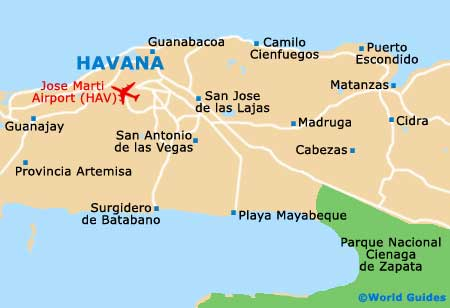 Small Havana Map