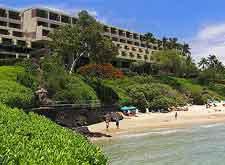 Image of Hawaii Big Island beach resort
