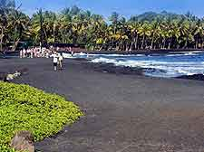 Photo of volcanic beachfront in East Hawaii (Hilo Area)