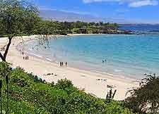 Image of beachfront at Mauna Kea