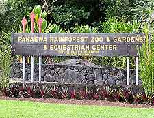 Photo of the Panaewa Rainforest Zoo