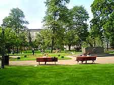 Picture showing central park