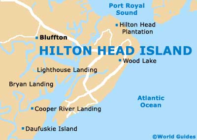 Map Of Hilton Head South Carolina Beaches Pictures To Pin