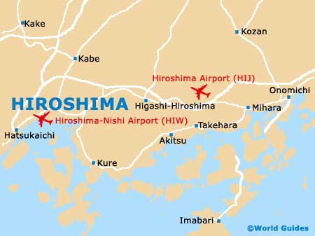 Small Hiroshima Map