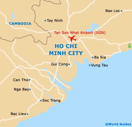 Small Ho Chi Minh City Map