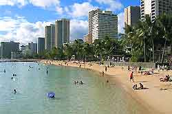 Photo of beachfront at Honolulu