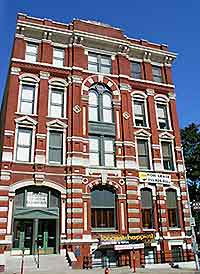 Picture of the Cotton Exchange building
