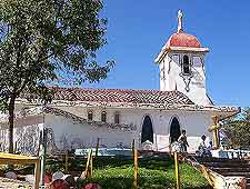 Image of the Libertad church