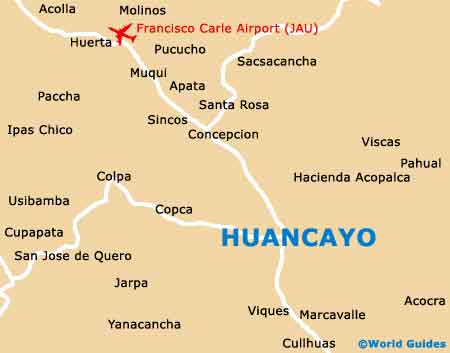 Small Huancayo Map