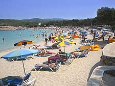 Photo of Ibiza's Bassa Beach