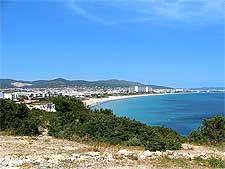 Photograph of the Playa d'en Bossa beachfront, taken by Dougie Macdonald
