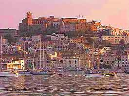 View of Ibiza Town