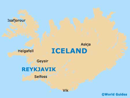 Iceland Capital Map Pictures to Pin on Pinterest PinsDaddy