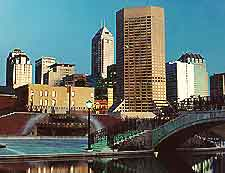 Picture showing the city of Indianapolis