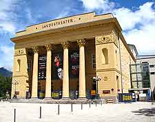 Photo of the city's Landestheater