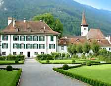 Photograph showing the Interlaken Castle