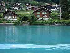 View over Lake Brienz