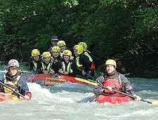 Image of white-water rafting