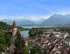 Picture of Lake Thun (Thuner See / Thunersee)