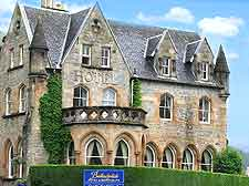 Image of local hotel, close to Loch Ness