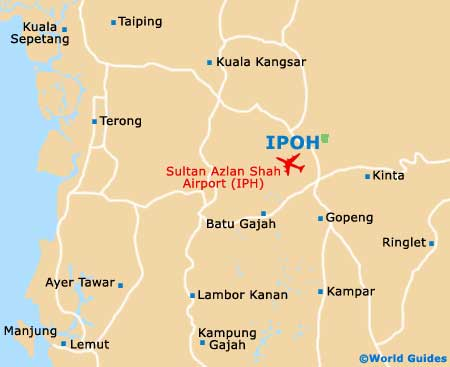 Small Ipoh Map