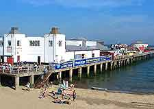 Photo of the pier at Clacton on Sea