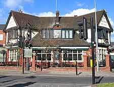 Photo of Tudor-style pub in the town centre