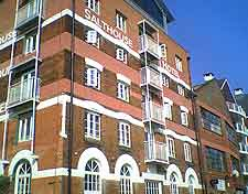 Close-up view of the Salthouse Harbour Hotel
