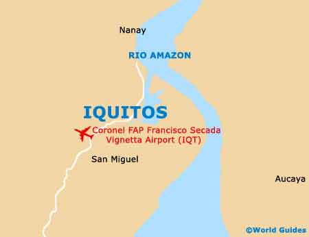 Small Iquitos Map