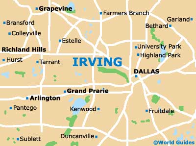 Small Irving Map