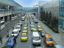 Photo of traffic at the airport