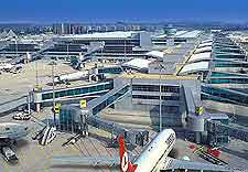Image of the airport at nearby Istanbul