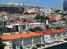 View of the city's Port of Karakoy