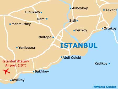 Small Istanbul Map