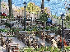 Image of waterfront tables
