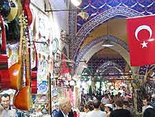 Picture showing the Istanbul Spice Market