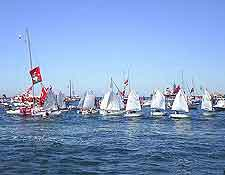 Picture of sailing festival