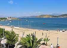 Foca Beach view