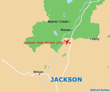 Small Jackson Hole Map