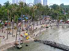 Photograph of the Ancol Dreamland amusement park
