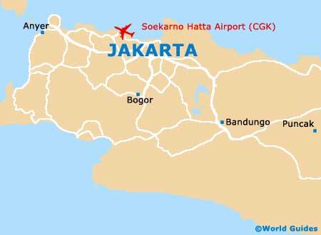 Small Jakarta Map