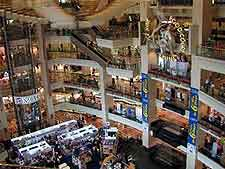 Interior mall photograph