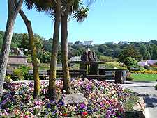 Image of gardens at St. Brelade's Bay