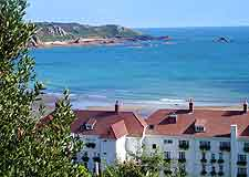Further view of hotel in St. Brelade's Bay