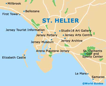 map of st hellier