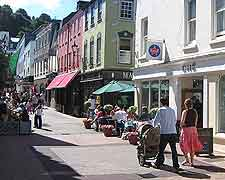 Picture of shops in St. Helier