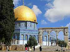 Different picture of the Dome of the Rock